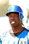 18 March 2006: Lastings Milledge, outfielder for the New York Mets, takes batting practice prior to a Spring Training game against the Washington Nationals at Space Coast Stadium, in Viera, Florida. The Nationals defeated the Mets 10-2 in Grapefruit League play...Mandatory Photo Credit: Ed Wolfstein Photo..