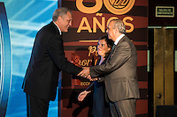 Josep Maria Margall during the 80th Aniversary of the National Basketball Team at Melia Castilla Hotel, Spain, September 01, 2015. <br /> (ALTERPHOTOS/BorjaB.Hojas) / NortePhoto.Com