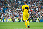 A.C. Milan Gianluigi Donnarumma during Santiago Bernabeu Trophy match at Santiago Bernabeu Stadium in Madrid, Spain. August 11, 2018. (ALTERPHOTOS/Borja B.Hojas)