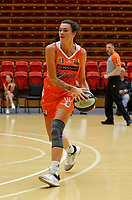 29th November 2019; Bendat Basketball Centre, Perth, Western Australia, Australia; Womens National Basketball League Australia, Perth Lynx versus Southside Flyers; Maddie Allen of the Perth Lynx looks to pass the ball - Editorial Use