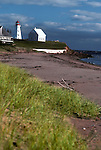 Lighthouse at Panmure Island Provincial Park, Prince Edward Island, Canada