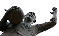 A general view of the Frederick Charles 'Fred' Keenor statue prior to kick off of the Sky Bet Championship match between Cardiff City and Birmingham City at The Cardiff City Stadium, Cardiff, Wales, UK. 11 March 2017
