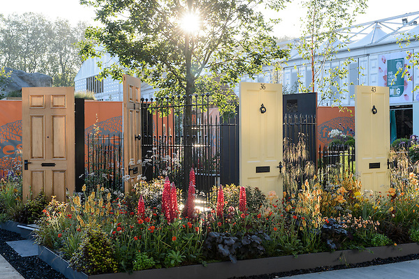 Modern Slavery Garden at RHS Chelsea Flower Show (24th May 2016)