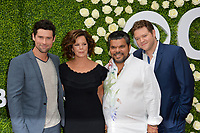 Ben Hollingsworth, Marcia Gay Harden, Luis Guzman, Harry Ford at CBS TV's Summer Soiree at CBS TV Studios, Studio City, CA, USA 01 Aug. 2017<br /> Picture: Paul Smith/Featureflash/SilverHub 0208 004 5359 sales@silverhubmedia.com