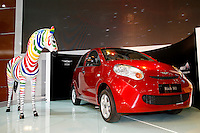 China's Chery automaker new car Riich M1 is unveiled during Shanghai Motor Show, in Shanghai, China, on April 20, 2009. Shanghai auto show opened Monday for the press and will be open April 24-28 for the public. China is the only major auto market still growing despite the global economic slowdown. U.S. and global auto makers see China as the place where they can find the sales they desperately lack in their home market. Chinese automakers see the opportunity to assess themselves as major players in the world market. Photo by Lucas Schifres/Pictobank