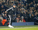 West Bromwich Albion manager Tony Pulis shouts instructions from the touchline - Premier League Football - West Bromwich Albion vs Swansea City - The Hawthorns West Bromwich - Season 2014/15 - 11th February 2015 - Photo Malcolm Couzens/Sportimage