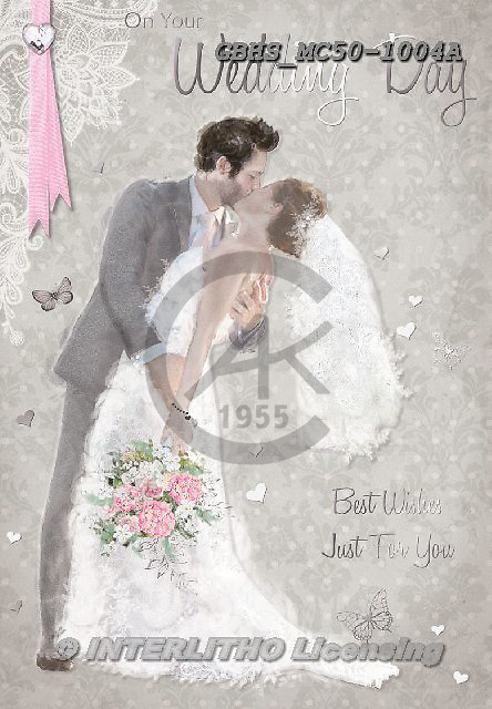John, WEDDING, HOCHZEIT, BODA, paintings+++++,GBHSMC50-1004A,#w#, EVERYDAY