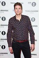 Greg James<br /> arriving for the Radio 1 Teen Awards 2018 at Wembley Stadium, London<br /> <br /> ©Ash Knotek  D3454  21/10/2018