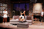 """As The World Turns' Colleen Zenk stars along with the cast - Brenda Withers and Davy Raphaely in """"Other Desert Cities"""" at the tech rehearsal (in costume) on October 14, 2015 at Whippoorwill Halll Theatre, North Castle Library, Kent Place, Armonk, New York.  (Photo by Sue Coflin/Max Photos)"""