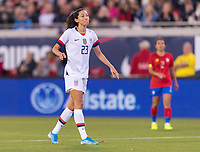 , FL - : Christen Press #23 of the United States reacts to a missed shot during a game between  at  on ,  in , Florida.