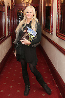 "NO REPRO FEE. 17/1/2010. The Field opening night. Amanda Brunker is pictured at the Olympia Theatre for the opening night of John B Keanes 'The Field"" Picture James Horan/Collins"