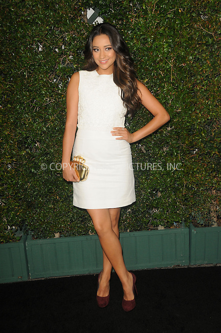 WWW.ACEPIXS.COM . . . . .  ....May 1 2012, LA....Actress Shay Mitchell arriving at ABC Family Upfronts at The Sayers Club on May 1, 2012 in Hollywood, California.....Please byline: PETER WEST - ACE PICTURES.... *** ***..Ace Pictures, Inc:  ..Philip Vaughan (212) 243-8787 or (646) 769 0430..e-mail: info@acepixs.com..web: http://www.acepixs.com