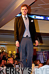 Models showcasing the wide range of suits and tuxedos at the Devon Inn Wedding Fayre on Sunday.