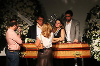 São Paulo (SP) 12/02/2019 - Morte / Ricardo Boechat - Familiares e amigos, durante velório do jornalista Ricardo Boechat no Museu da Imagem e do Som (MIS), na zona sul de São Paulo na madrugada desta terça-feira, 12. (Foto: Charles Sholl/Brazil Photo Press)