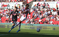 Leeds United's Mateusz Klich shoots past Stoke City's Thomas Ince<br /> <br /> Photographer Stephen White/CameraSport<br /> <br /> The Premier League - Stoke City v Leeds United - Saturday August 24th 2019 - bet365 Stadium - Stoke-on-Trent<br /> <br /> World Copyright © 2019 CameraSport. All rights reserved. 43 Linden Ave. Countesthorpe. Leicester. England. LE8 5PG - Tel: +44 (0) 116 277 4147 - admin@camerasport.com - www.camerasport.com