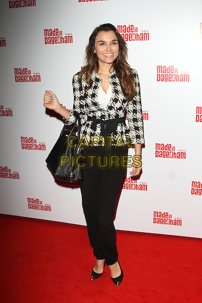 LONDON, ENGLAND - NOVEMBER 05: Samantha Barks attends the 'Made In Dagenham' press night at the Adelphi Theatre on November 5, 2014 in London, England<br /> CAP/ROS<br /> &copy;Steve Ross/Capital Pictures