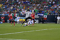 Costa Rica vs El Salvador in the Concacaf Gold Cup, the final score of this match was 1-1