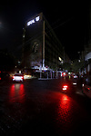 Lebanese walk in Hamra street during a power outage in Beirut, Lebanon,1 July 2020. Photo by Marwan Tahtah