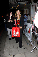 LONDON, ENGLAND - SEPTEMBER 10 :  Emma Atkins leaves the TV Choice Awards 2018, at The Dorchester hotel, on September 10, 2018 in London, England.<br /> CAP/AH<br /> &copy;AH/Capital Pictures