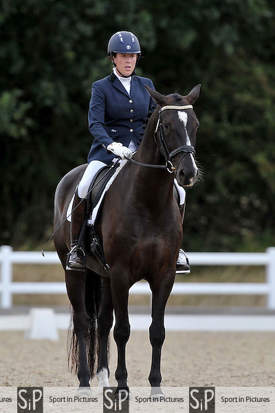 Class 6. British dressage. Brook Farm Training Centre. Essex. 09/09/2016. MANDATORY Credit Garry Bowden/Sportinpictures - NO UNAUTHORISED USE - 07837 394578