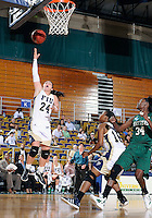 Florida International University guard Carmen Miloglav (24) plays against Stetson University in the first round of the NIT.  FIU won the game 75-47 on March 15, 2012 at Miami, Florida. .