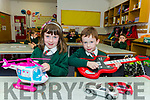Twins Amelia and Ethan O'Sullivan, junior infants in Miss O'Shea class in Firies NS.