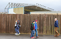 Burnley fans walk past Turf Moor<br /> <br /> Photographer Alex Dodd/CameraSport<br /> <br /> The Premier League - Burnley v Fulham - Saturday 12th January 2019 - Turf Moor - Burnley<br /> <br /> World Copyright © 2019 CameraSport. All rights reserved. 43 Linden Ave. Countesthorpe. Leicester. England. LE8 5PG - Tel: +44 (0) 116 277 4147 - admin@camerasport.com - www.camerasport.com