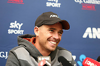 191031 International T20 Cricket - NZ Black Caps v England Presser, 31 October 2019
