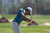 Joachim Lagergren (SWE) on the driving range during the Pro-Am of the Abu Dhabi HSBC Championship 2020 at the Abu Dhabi Golf Club, Abu Dhabi, United Arab Emirates. 15/01/2020<br /> Picture: Golffile | Thos Caffrey<br /> <br /> <br /> All photo usage must carry mandatory copyright credit (© Golffile | Thos Caffrey)