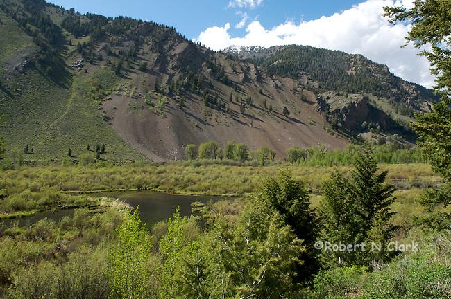 The Trail Creek beaver ponds near Sun Valley, Idaho