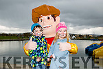 Adam and Amy O'Connell. with Woody at the Tralee Bay Wetlands Easter Family Fun Day on Monday