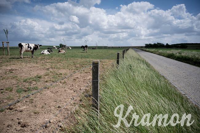 Op de Kriezel <br /> cobbled road<br /> <br /> Limburg cycling hotspots<br /> Cycling In Flanders <br /> Flanders Tourist Board<br /> <br /> ©kramon