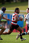 Samisoni Fisilau runs from the base of a scrum during the ITM Cup rugby game between Counties Manukau Steelers and Northland, played at Bayer Growers Stadium, Pukekohe, on Sunday September 26th 2010..The Counties Manukau Steelers won 40 - 24 after leading 27 - 7 at halftime.