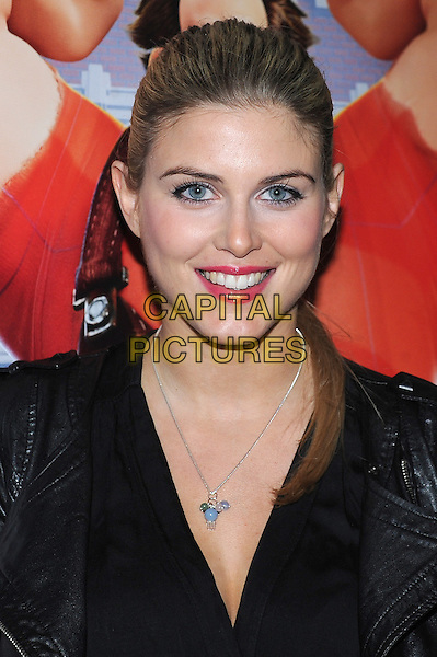 "Ashley James .The VIP screening of ""Wreck It Ralph"", The Electric Cinema, Notting Hill, London, England..5th February 2013.headshot portrait black .CAP/BEL.©Tom Belcher/Capital Pictures."