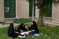Student at the University of Tehran, Iran May 6, 2007