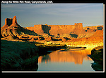 Along the White Rim Road, Green River, Canyonlands National Park, Utah.<br /> Outside Imagery offers Canyonlands National Park photo tours. Year-round Utah photo tours.