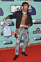 Swae Lee<br /> MTV EMA Awards 2017 in Wembley, London, England on November 12, 2017<br /> CAP/PL<br /> &copy;Phil Loftus/Capital Pictures