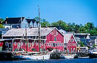 Fisheries Museum of the Atlantic, Lunenburg, Nova Scotia, Canada