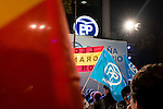 Partido Popular voters in proximity to the Partido Popular headquarters at Genoa. in Madrid, December 20, 2015<br /> (ALTERPHOTOS/BorjaB.Hojas)