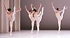 Dutch National Ballet <br /> Hans Van Manen - Master of Dance<br /> Grosse Fuge<br /> rehearsal / photocall<br /> 12th May 2011<br /> at Sadler's Wells. London, Great Britain <br /> <br /> Anna Tsygankova<br /> Anu Viheriaranta<br /> Marisa Lopez<br /> Igone de Jongh<br /> <br /> <br /> Photograph by Elliott Franks