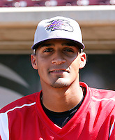 Salvador Sanchez ---  At the annual California League-Carolina League all-star game at the Diamond in Lake Elsinore, CA - 06/23/2009. The game was won by the California League, 2-1, on a walk-off homerun by Lancaster's Jon Gaston..Photo by:  Bill Mitchell/Four Seam Images