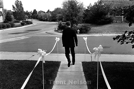 Trent Nelson before Trent &amp; Laura's wedding.<br />