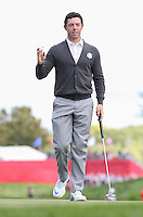 Rory McIlroy (Team Europe) during Thursday's Practice Round ahead of The 2016 Ryder Cup, at Hazeltine National Golf Club, Minnesota, USA.  29/09/2016. Picture: David Lloyd | Golffile.