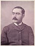 Rudyard Kipling (1865 - 1936), English writer<br /> <br /> 1895
