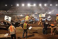 Demolition Derby at the NW Washington Fair. August 17, 2009 PHOTOS BY MERYL SCHENKER            .schenker IMG_9274.JPG