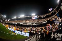 VALENCIA, SPAIN - DECEMBER 5: Messi, Neymar during BBVA LEAGUE match between Valencia C.F. and FC Barcelona at Mestalla Stadium on December 5, 2015 in Valencia, Spain
