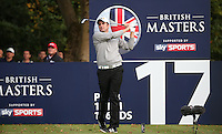 Richard Bland (ENG) in action during the Final Round of the British Masters 2015 supported by SkySports played on the Marquess Course at Woburn Golf Club, Little Brickhill, Milton Keynes, England.  11/10/2015. Picture: Golffile | David Lloyd<br /> <br /> All photos usage must carry mandatory copyright credit (&copy; Golffile | David Lloyd)