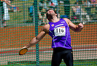 23 MAY 2010 - LOUGHBOROUGH, GBR - Danny Greaves - Mens Discus - Loughborough International Athletics  .(PHOTO (C) NIGEL FARROW)