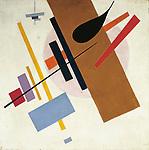 Kazimir Severinovich Malevich (1879-1935), Suprematism, ca. 1917.
