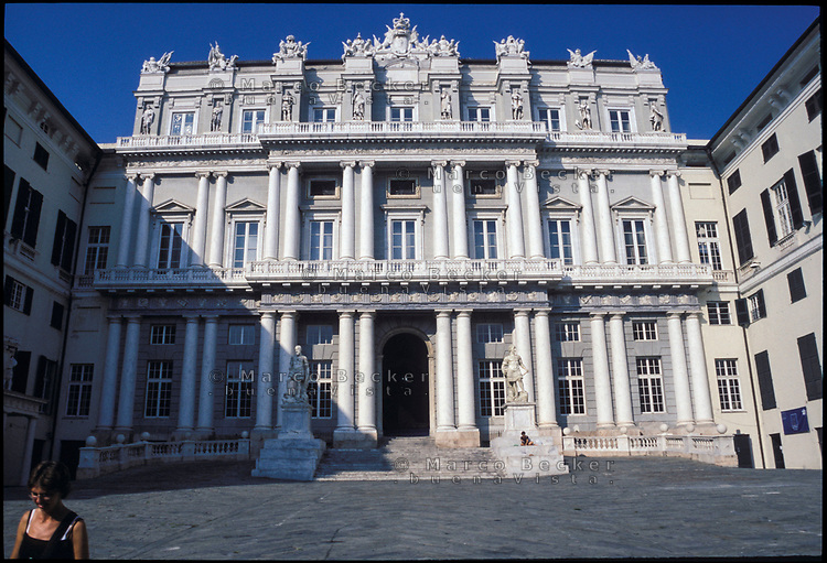 Genova, Palazzo Ducale --- Genoa, the Doge's Palace